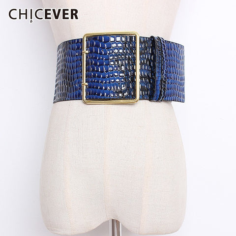 CHICEVER Colorful Wide Belts - Free shipping