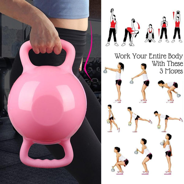 Fitness Kettle Bell water filled Adjustable weight - Free shipping - Style Art Villa