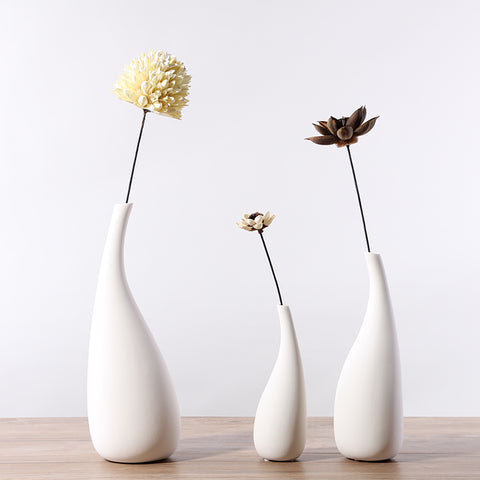 Nordic Style Ceramic Flower Vase - Free shipping (3- 4 weeks)