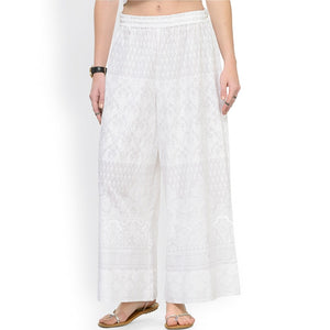 Ethnic Indian Broad legged Trousers - Fee shipping (3-4 weeks)