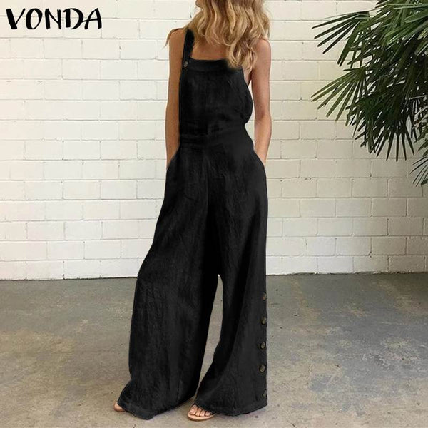 Cotton Jumpsuits - Free shipping