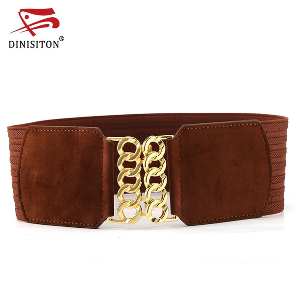 DINISITON Cummerbunds Women Wide Belts - Free shipping (17-27 days)