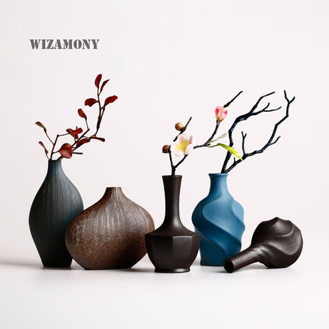 WIZAMONY European Style Ceramic Vase - Free shipping (17-27 days)