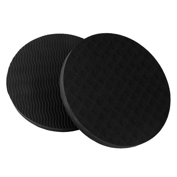 2PCS/Set Portable Small Round Knee protective Pads Yoga/Gym Mats non-slip - Free shipping - Style Art Villa