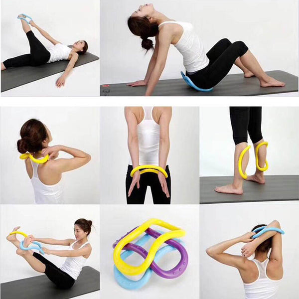 24*13*7cm Yoga Stretch Ring Women Fitness Workout Pilates Equipment - Free shipping