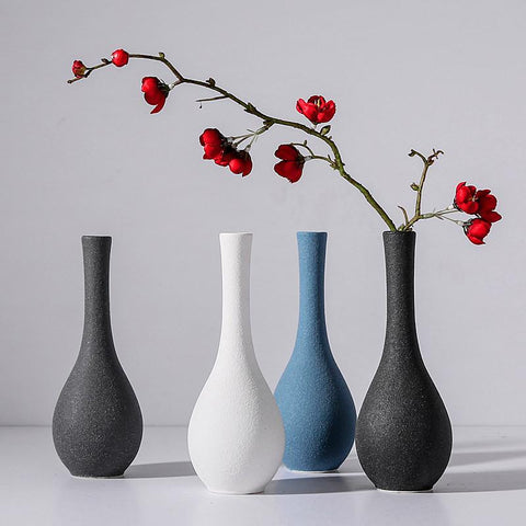 Ceramic tabletop vase - Free shipping (17-27 days) - Style Art Villa