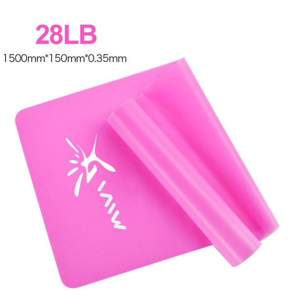 Gym Yoga Crossfit Elastic Resistance Bands for Exercise/ Fitness/ Strength Training