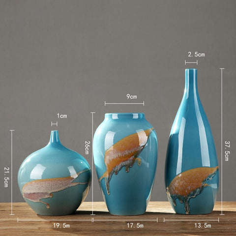 Jingdezhen Luxury Handmade ceramic Vase - Free shipping (3-4 weeks)