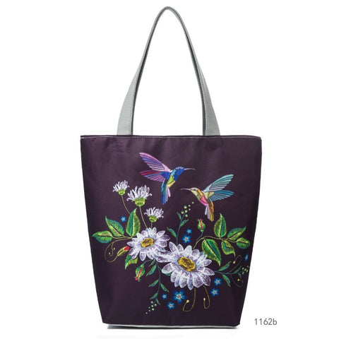 Miyahouse Canvas Printed Handbag - Free shipping