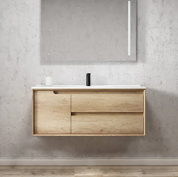 Byron Natural Oak WH Vanity - 1200