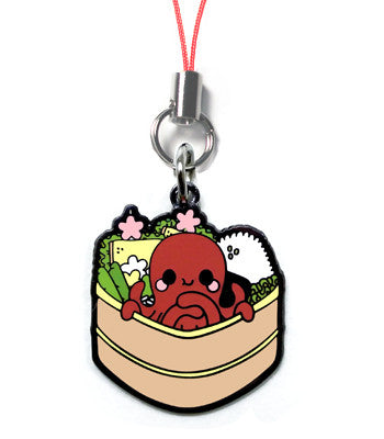Tasty Bento Octopus Metal Charm