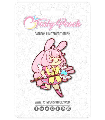 Chirii Bunny Healer Player Enamel Pin - January 2021 Pin Club