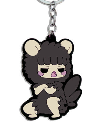 Grumpy Sheep Vinyl Keychain
