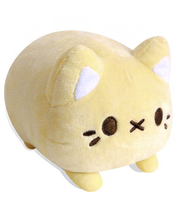 Yellow cat plush