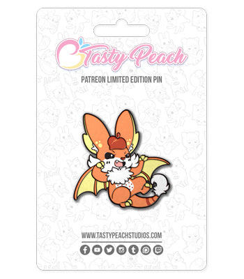 Candy Corn Nocturii Enamel Pin - September 2020 Pin Club