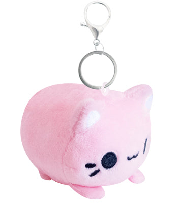 Mini Meowchi Keychain Plush - Strawberry