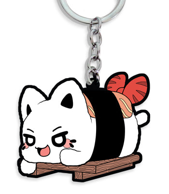 Shrimp Nigiri Vinyl Key Chain
