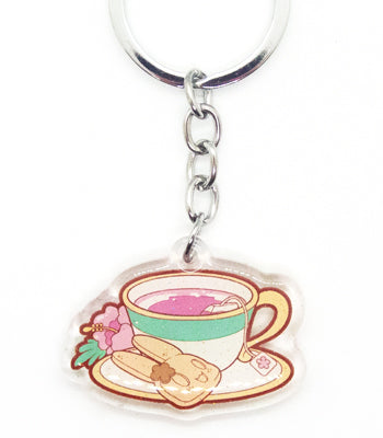 Tofusagi Hibiscus Tea Key-chain