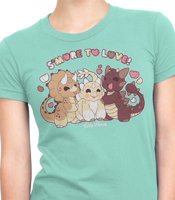 'Smore to Love' DinoS'more Tee - Fitted