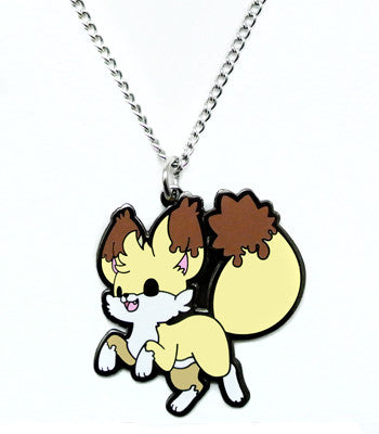 Kekitsu Fennec Fox Metal Necklace