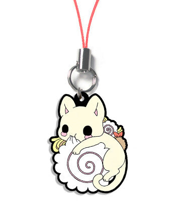 Udon kitty ramen cat chewing naruto charm