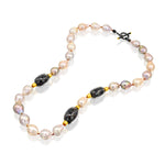 BELLA PEARLS MIX NECKLACE