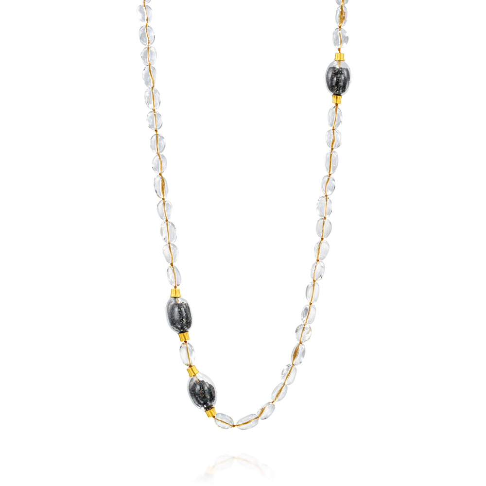 ELLA MIX BEADS NECKLACE
