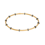 24K GOLD CLEOPATRA STACK BANGLE