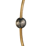 24K GOLD & GILVER BEAD JANE STACK BANGLE