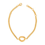 24K GOLD DIAMOND MELISSA BRACELET