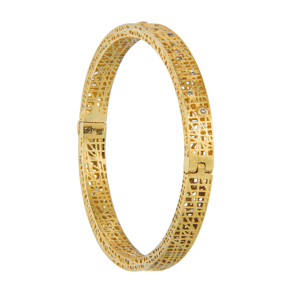 18K GOLD DIAMOND XS LACE CUFF