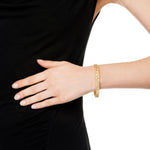 18K GOLD PAVE DIAMOND XS LACE CUFF