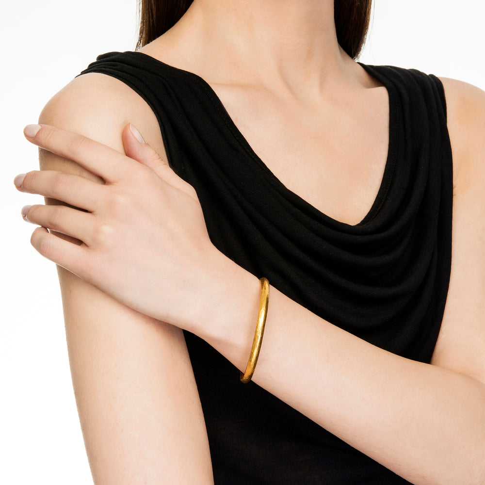24K GOLD MICA BANGLE