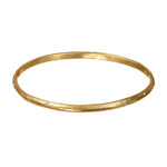 24K GOLD DIAMOND MICA BANGLE