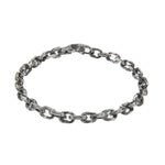 OXIDIZED STERLING SILVER PUNTA GALERA SMALL SPACE BRACELET