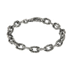 OXIDIZED STERLING SILVER PUNTA GALERA MEDIUM SPACE BRACELET