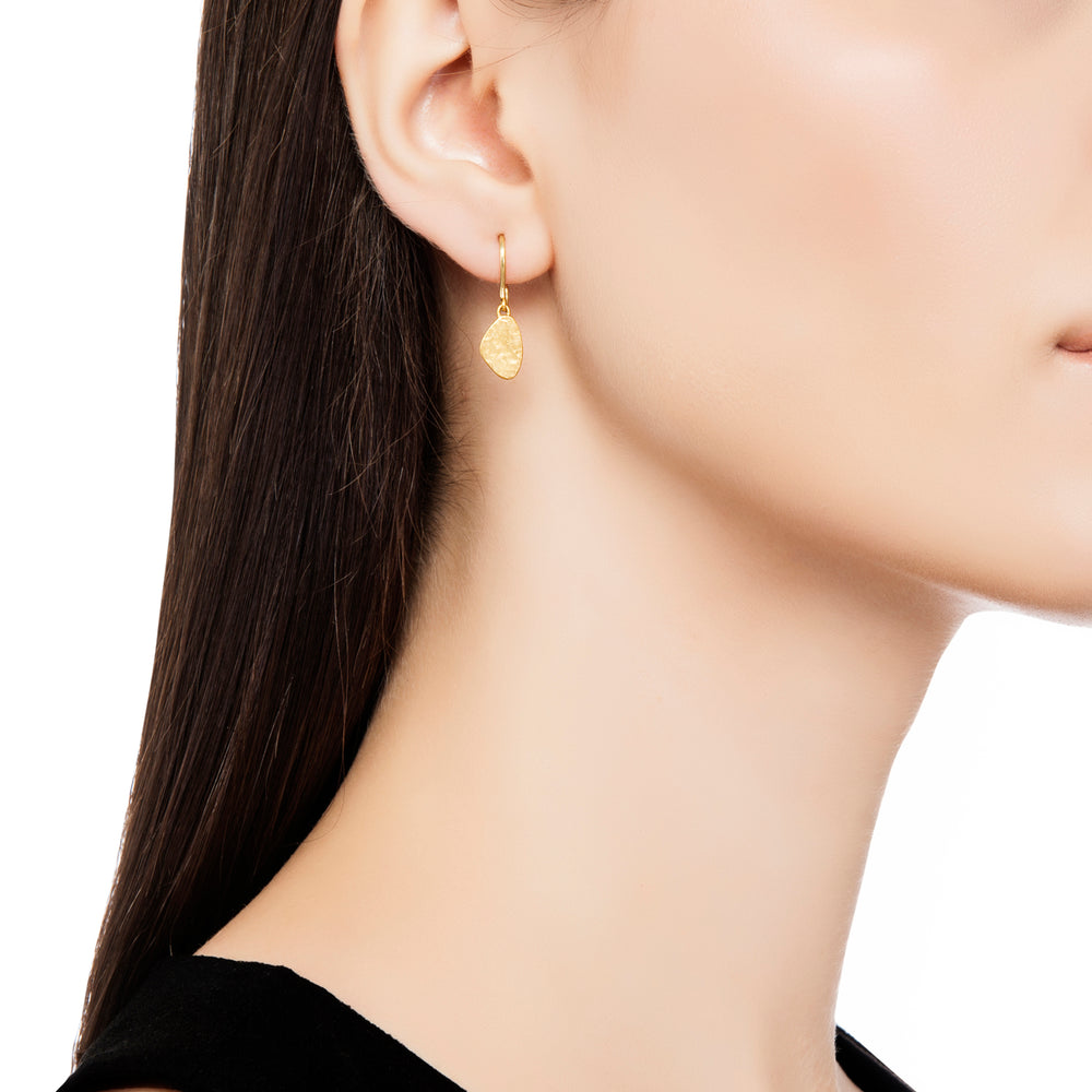 24K GOLD MELISSA SMALL DROP EARRINGS