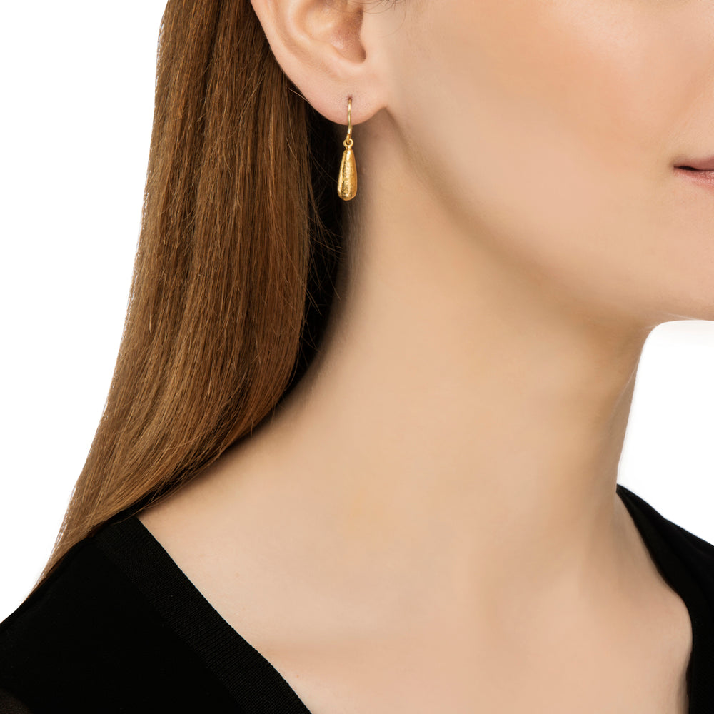 24K GOLD JANE CONE EARRINGS