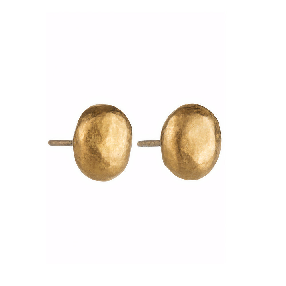 24K GOLD MINI ROXANNE STUD EARRINGS