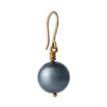 24K GOLD STAHITIAN PEARL ROXANNE DROP EARRINGS