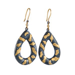 LIBRA PEAR SHAPED EARRINGS