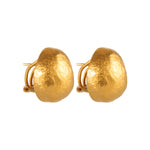 24K GOLD MEDIUM FRENCH CLIP ROXANNE EARRINGS