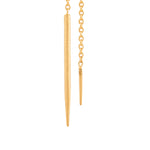24K GOLD  REYNA DROP EARRINGS