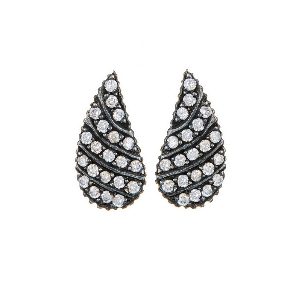 DIAMOND WING LILAH STUD EARRINGS