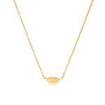 24K GOLD MELISSA ELEMENT NECKLACE
