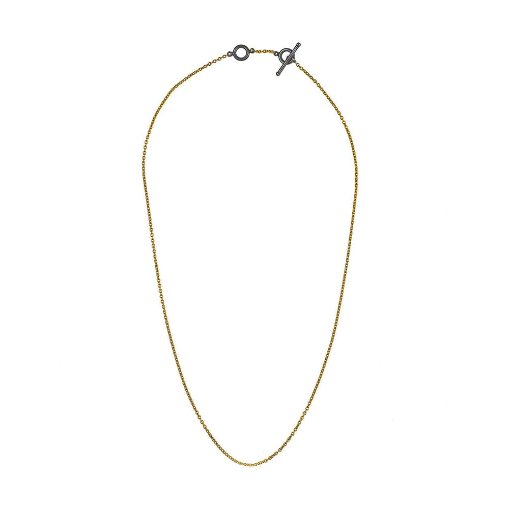 "18K GOLD 16"" CHAIN NECKLACE"