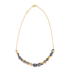 24K GOLD MINI BEADS HELEN NECKLACE
