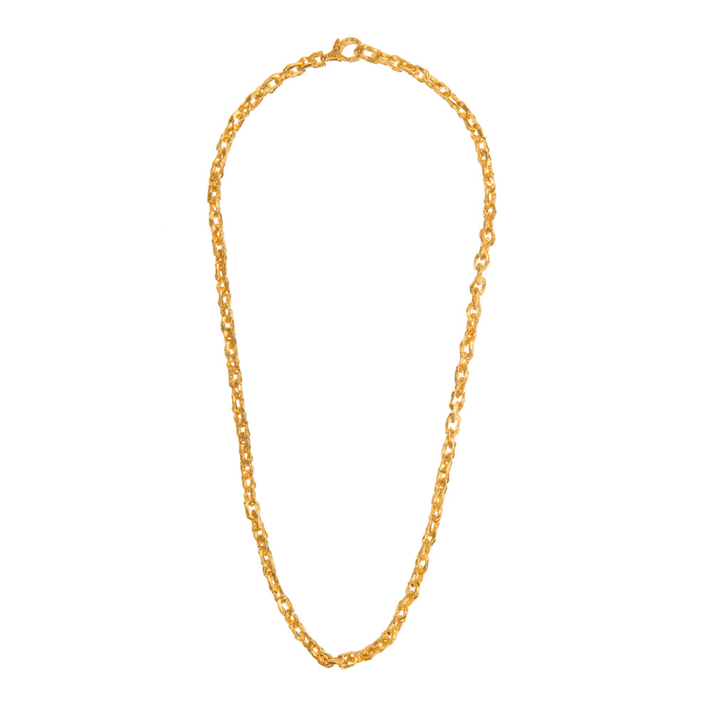 VERMEIL PUNTA GALERA SMALL SPACE NECKLACE