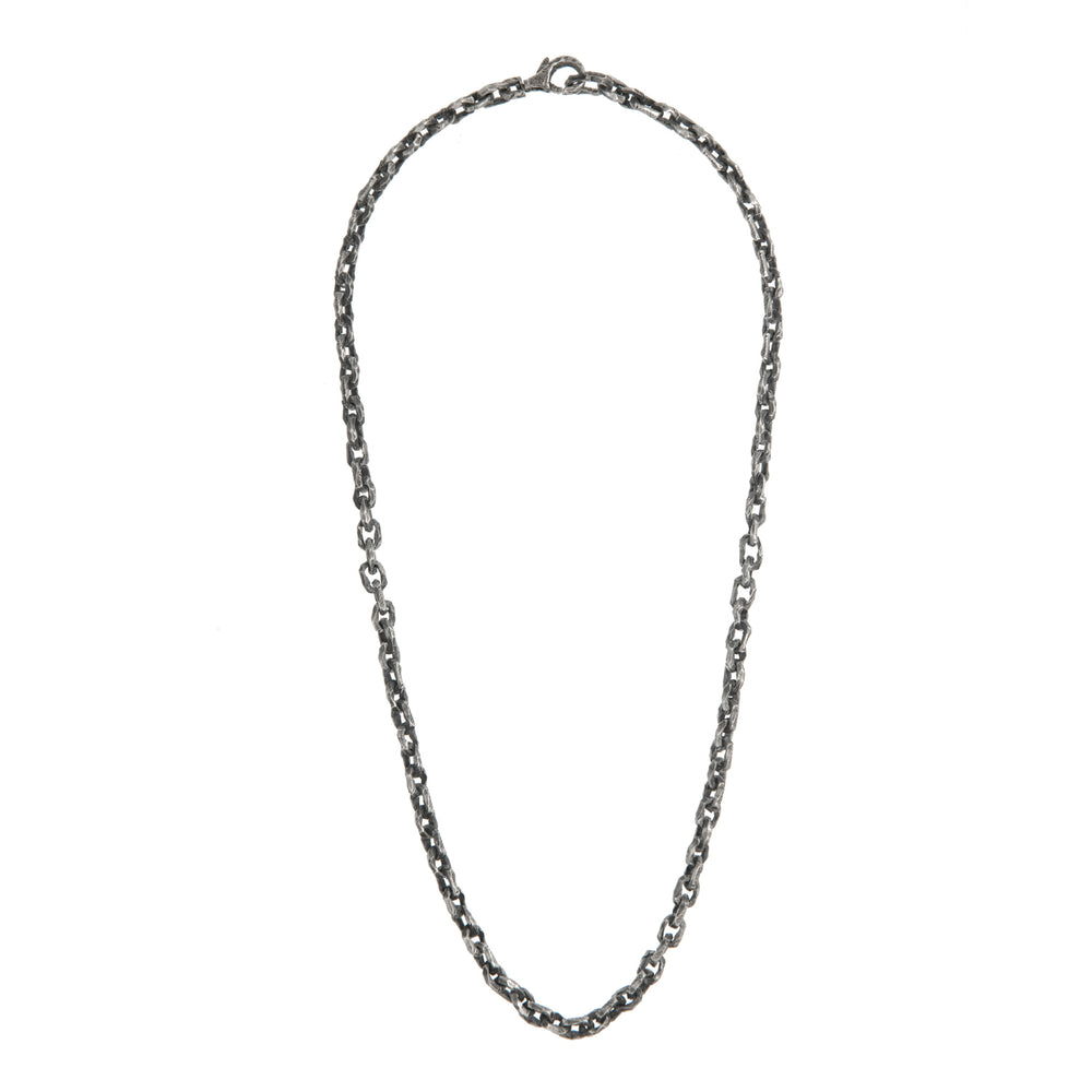 OXIDIZED STERLING SILVER PUNTA GALERA SMALL SPACE NECKLACE