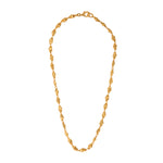 24K GOLD PLATED MEN'S PUNTA GALERA PACHA NECKLACE